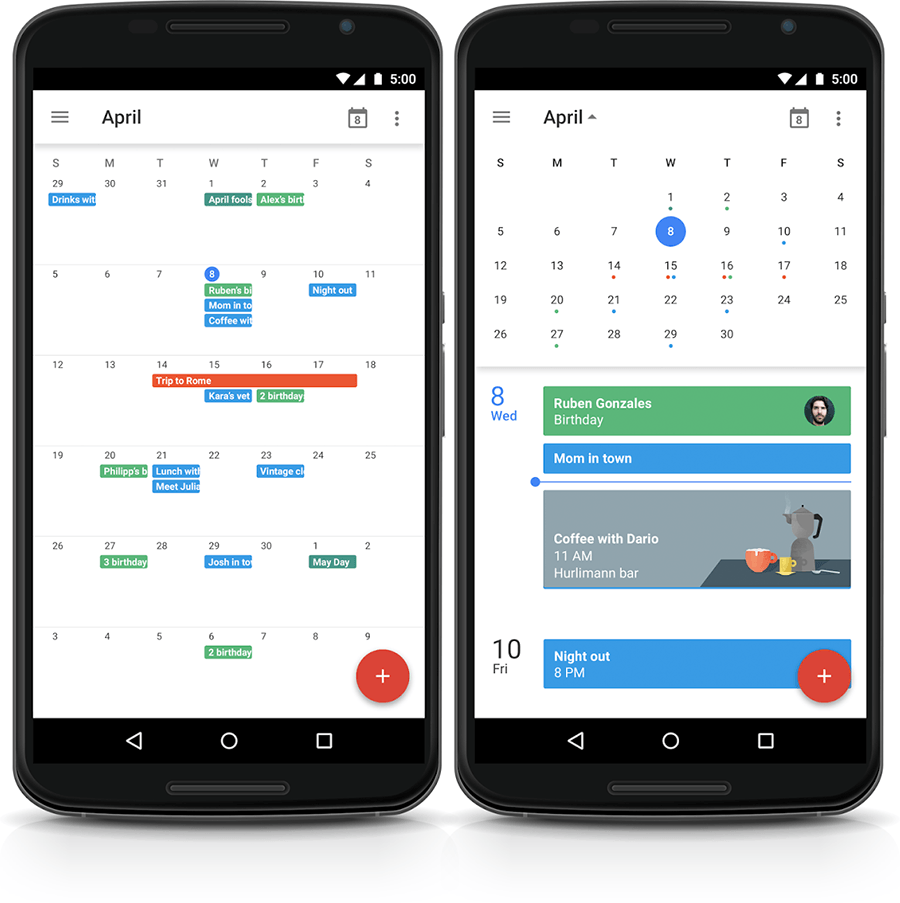 Notifiche Calendario Android.Come Sincronizzare I Calendari Ical Di Cloud Hotel Su