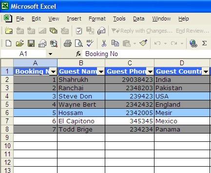 Calendario Prenotazioni Hotel Excel.4 Motivi Per Smettere Di Usare Excel Come Se Fosse Un