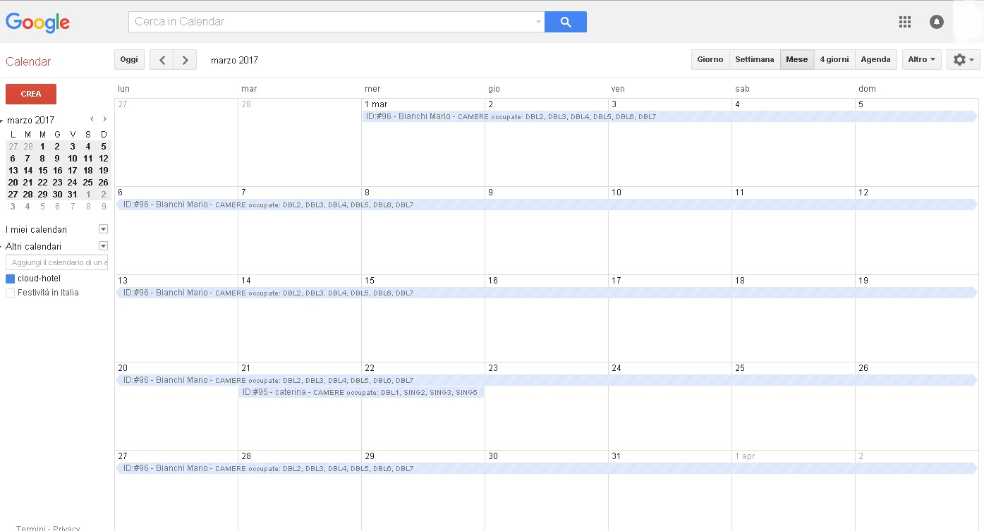 Sincronizzare Calendario Android.Come Sincronizzare I Calendari Ical Di Cloud Hotel Su
